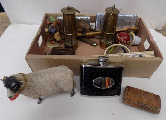 Small box of collectables - good selection