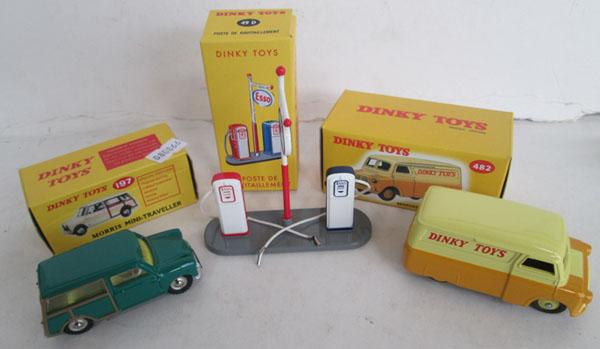 3 x Dinky toys (boxed)