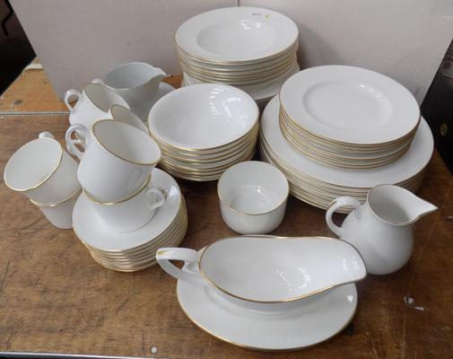 8 place setting Royal Worcester Strathmore dinner set