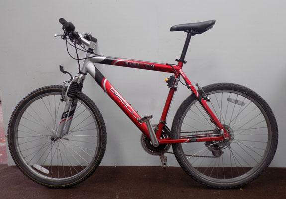 "Apollo Transition red/silver 26"" hardtail 21 gears bike"