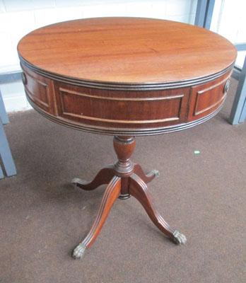 1930's drum table