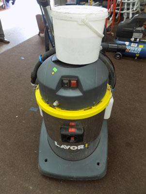 Lavor Pro carpet cleaner/tools/shampoo in working order