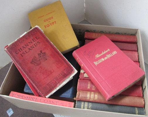 Box of Baedekers Antiquarian & collectors books