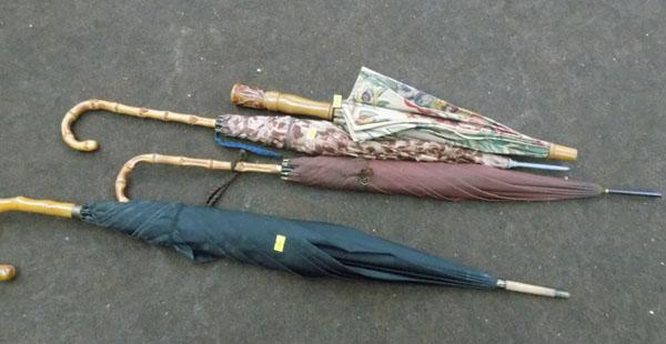 Selection of brollies