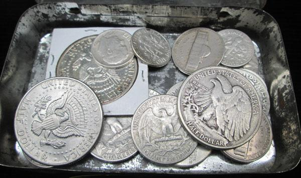 Selection of USA silver & modern coins
