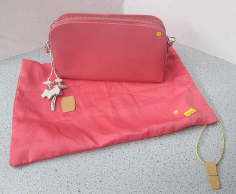 Radley pink handbag + dust bag