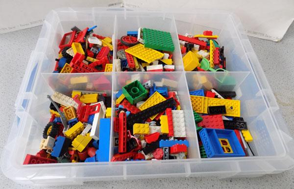 Box of Lego