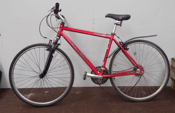 Marin Sausalito red 700C hardtail 24 gears