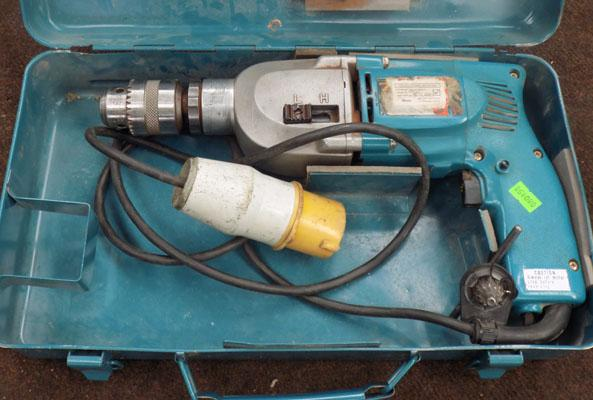 Makita 110v HD drill in working order