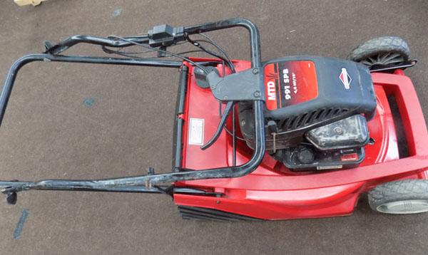 Turner & Ward petrol lawn mower