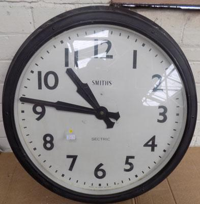 Large Smiths electric station/office wall clock