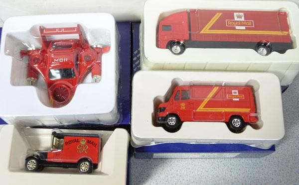 Royal Mail Millennium collection diecasts x 4