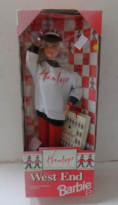 Boxed Barbie Hamleys Special Ed West End