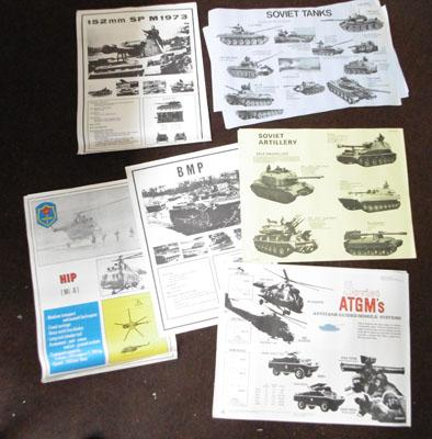Russian Military Vehicle ID posters