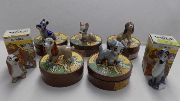 7 boxed Wade Whimsies