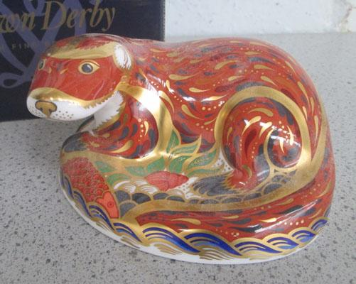 Royal Crown Derby Otter