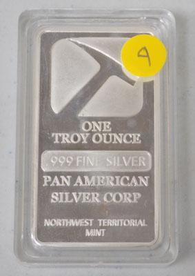 Silver Troy ounce
