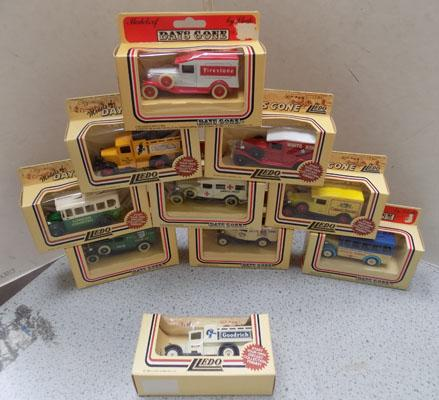 Selection of Collectable vans