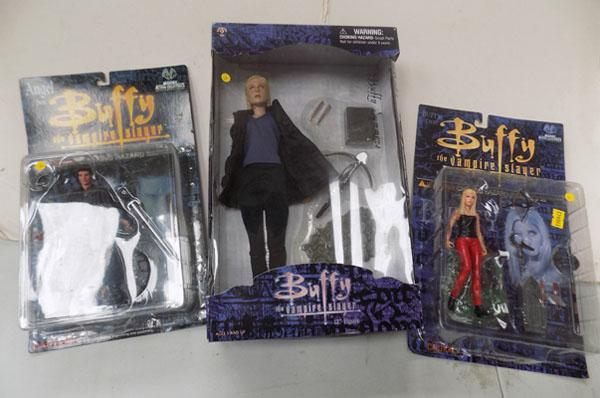 "Buffy 12"" Sideshow figure and 2 Buffy Moore collectable  figures"
