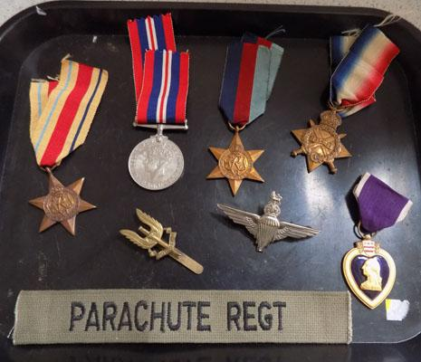 Military Medals from WW1, WW2 and others.