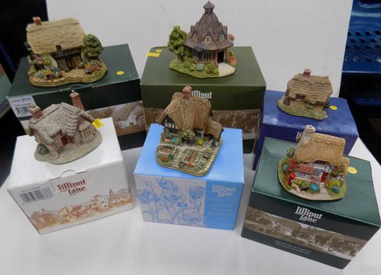 Boxed Lilliput Lane collection