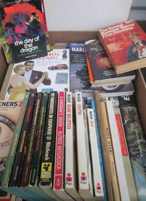 Box of books-some vintage