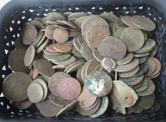 Uncleaned coins