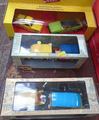 Collectors die cast vans / cars inc Only Fools and Horses, Dandy , Beano