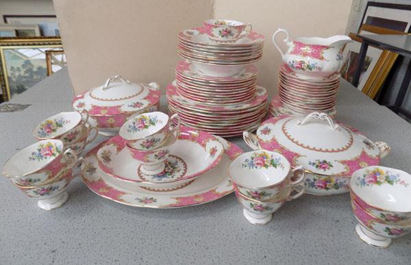 "Royal Albert ""Lady Carlyle"" dinner service"