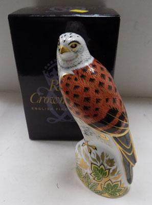 Royal Crown Derby Kestrel