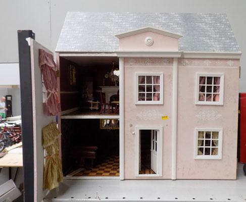 Doll's house and furniture