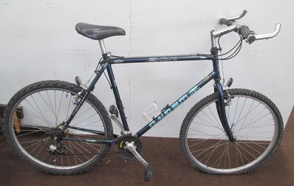 "Claud Butler Exon blue 26"" rigid 18 gears bike"