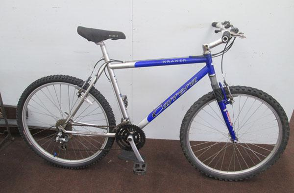"Carrera Kraken blue/grey 26"" hardtail 21 gears bike"