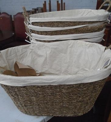 5 new laundry baskets