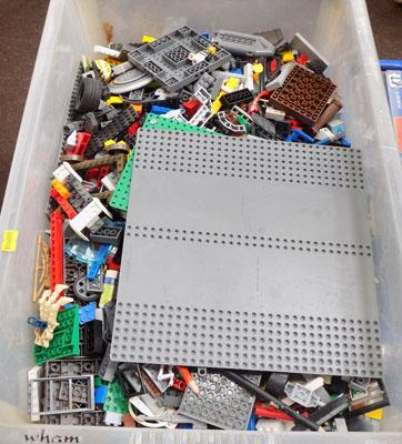 Large box Lego pieces