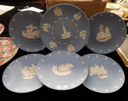 Collection of Wedgwood Independence plate 200 years