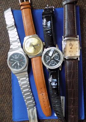 4x Gents watches