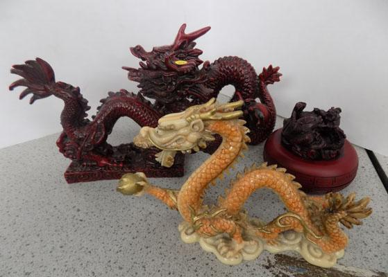Selection of Chinese dragons