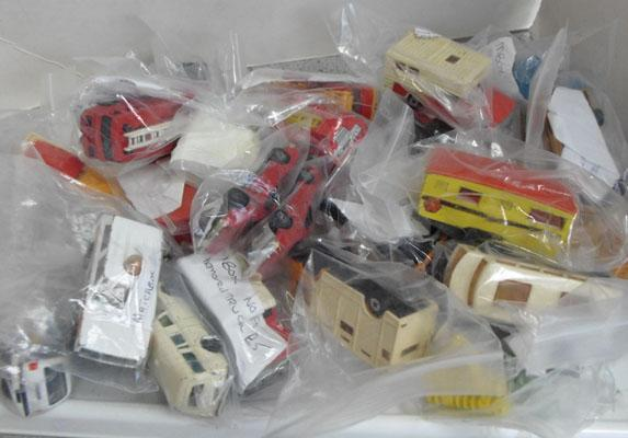 Collection of die cast inc Dinky, Corgi army