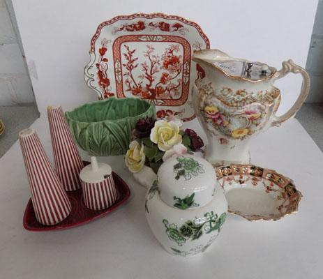 Selection of named pottery inc Hornsea, Sylvac, Coalport