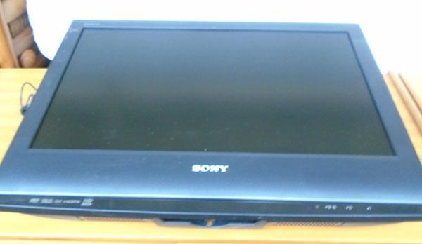Sony TV (remote in office)
