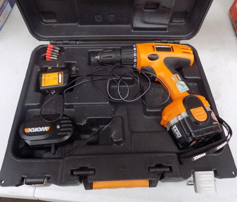 Worx battery operated drill