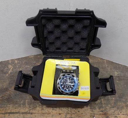 Invicta gents watch with spares