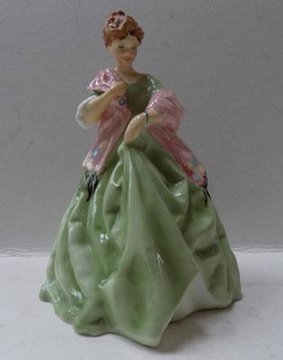 Royal Worcester figurine-First Dance