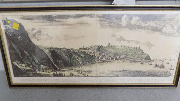 Framed print of Scarborough