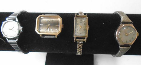 Collection of vintage watches inc 9ct gold watch