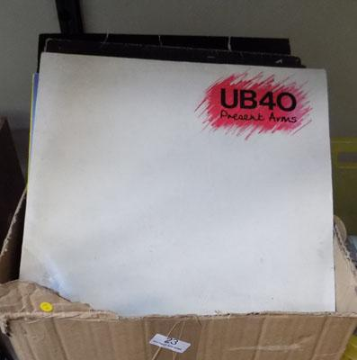 Large box of LP's