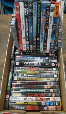 Mixed box of DVD's