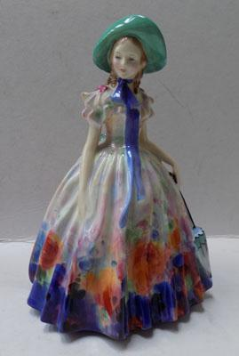 Royal Doulton figurine-Easter day