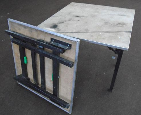 2 Folding tables-good for carboot sales